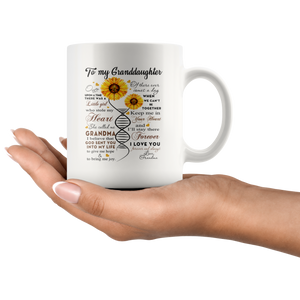 God Sent You In To My Life - 11oz White Mug