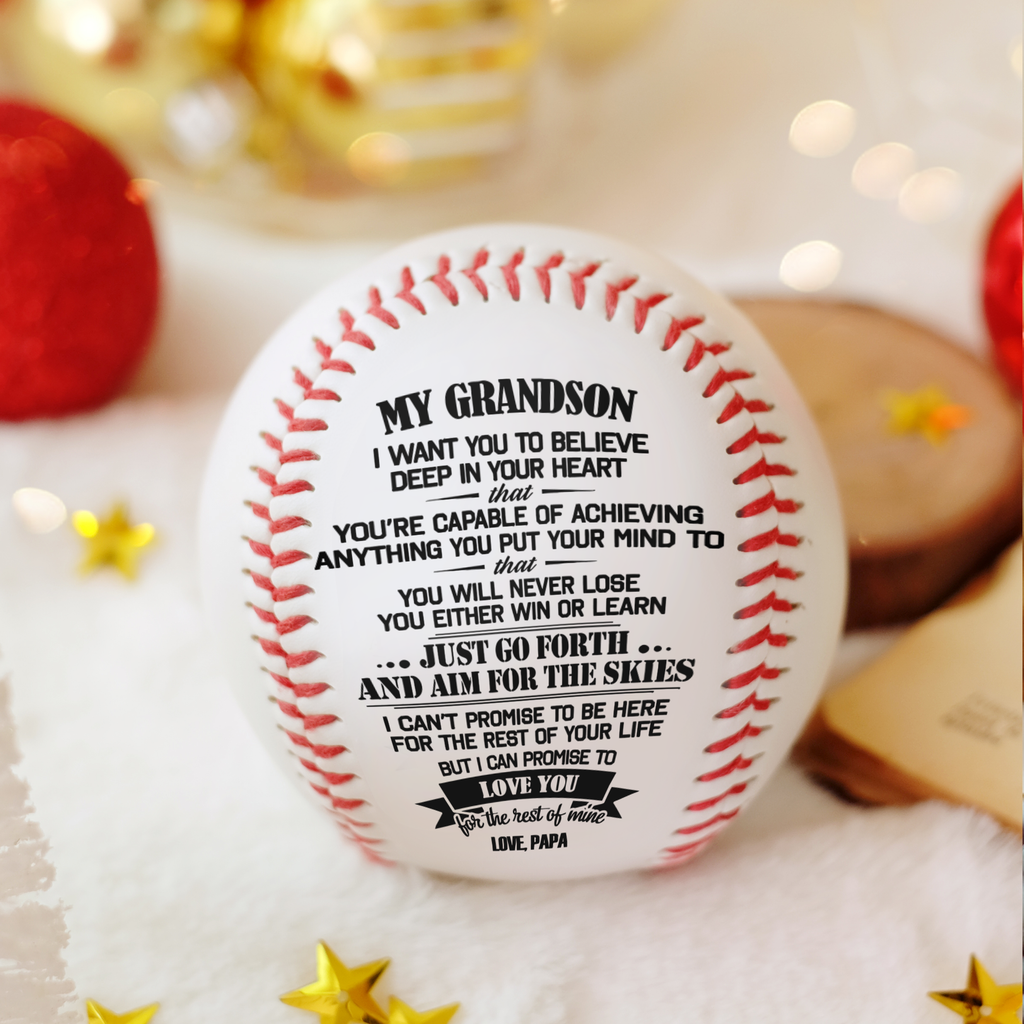 Papa To Grandson - You Will Never Lose - Baseball