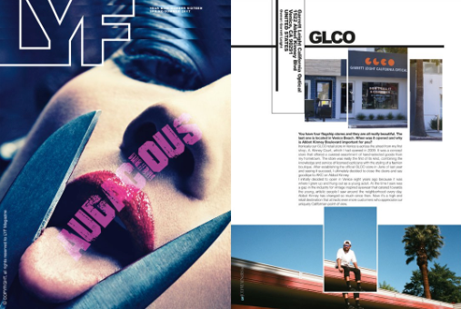 Garrett Leight Venice Abbot Kinney CA store location featured in Lyf Magazine