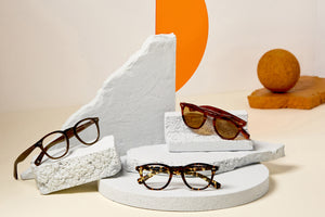 Garrett Leight California Optical Hampton X Eyeglasses and Sunglasses