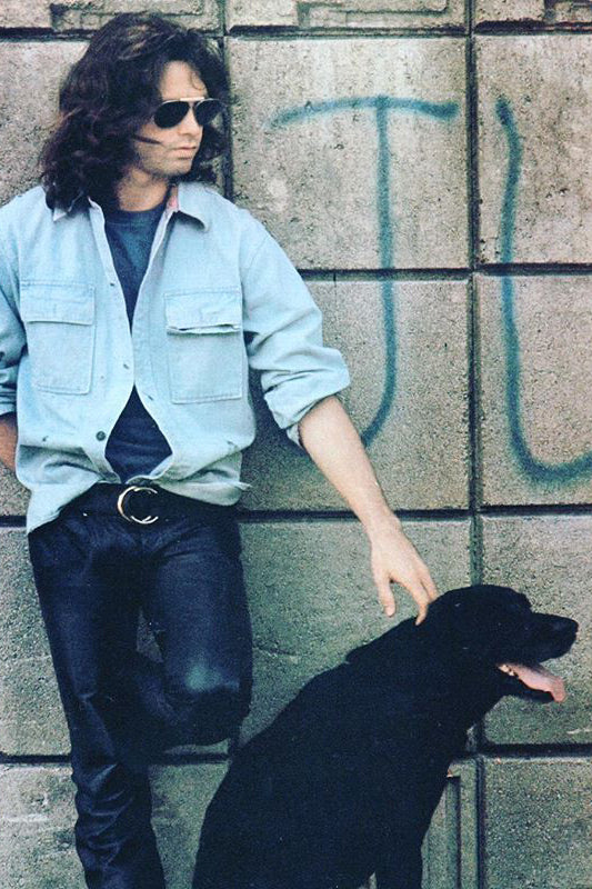 photo of Jim Morrison of The Doors