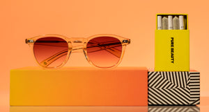 garrett leight x pure beauty hampton x sunglasses