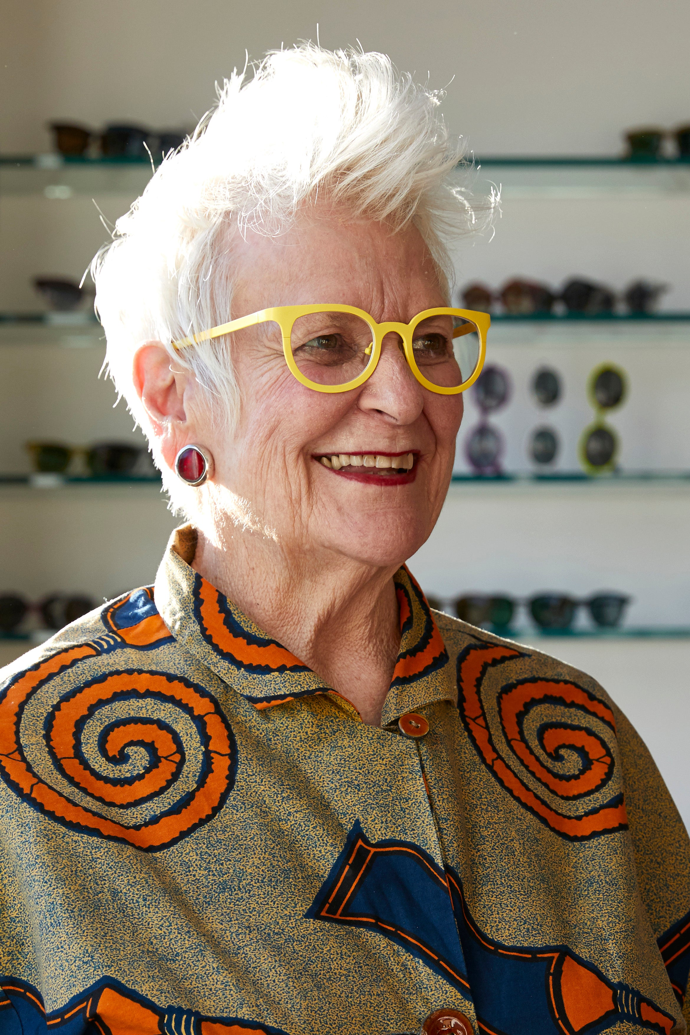 Gai Gherardi, co-founder of l.a.Eyeworks