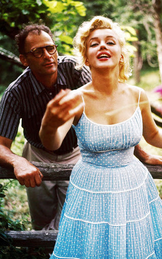vintage photos of Arthur Miller and Marilyn Monroe