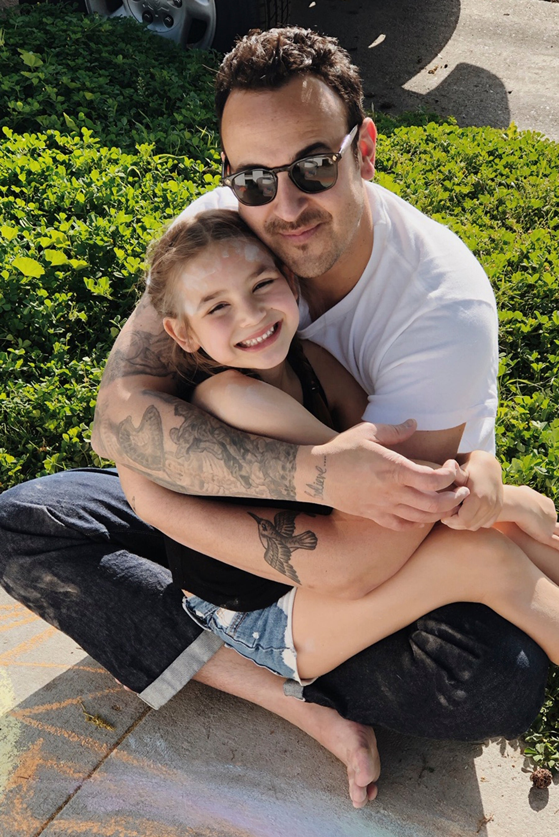photo of Jason with daughter