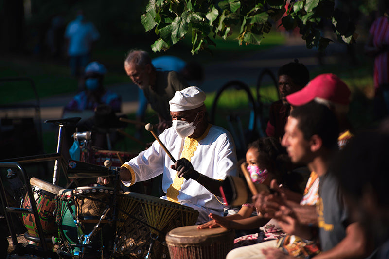 Drummers in Prospect Park