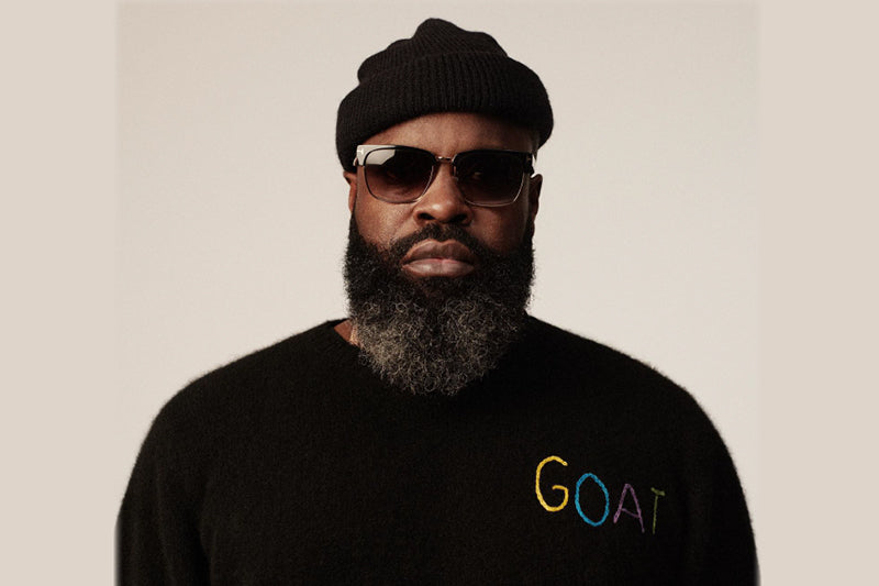 Black Thought wearing a beanie and sunglasses