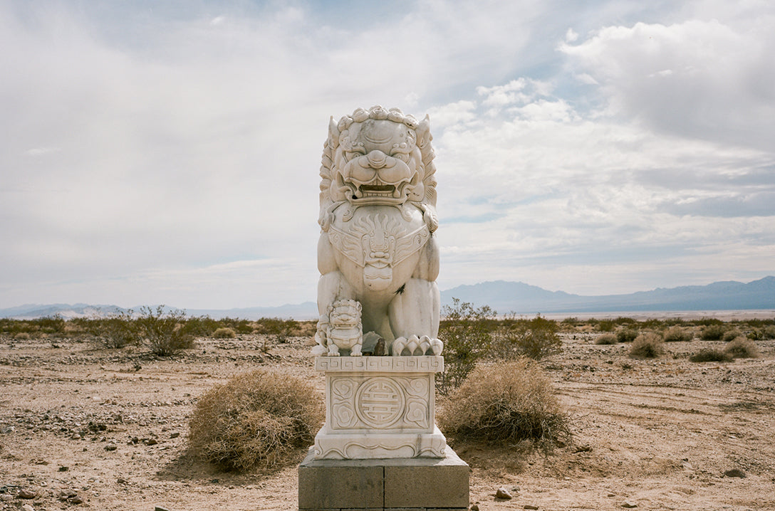 Death Valley Statue