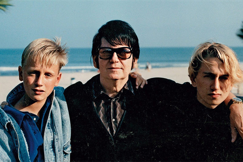Roy Orbison and his family