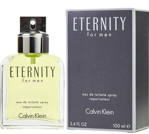 Calvin Klein Eternity EDT for Men 100ml - BabMakkah Stores