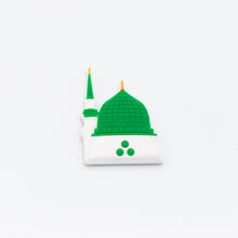 Load image into Gallery viewer, Green Dome Rubber Fridge Magnet - BabMakkah Stores
