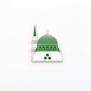 Green Dome Metal Fridge Magnet - BabMakkah Stores