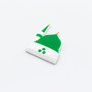 Green Dome Rubber Fridge Magnet - BabMakkah Stores