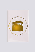 Load image into Gallery viewer, Octagon Kaabah magnet - Gold - BabMakkah Stores