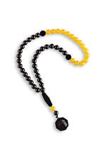 Load image into Gallery viewer, Onyx and Yellow Agate Subha - BabMakkah Stores
