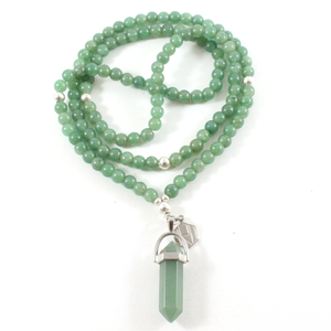 Jade Necklace & Pendant - Chakra Collection - BabMakkah Stores
