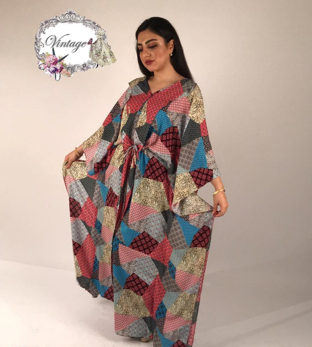 Vintage colored fabric style By Vintage Fashion - BabMakkah Stores