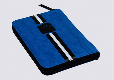 Quran cover, Lines Kaabah - Blue, Medium By Duraibah - BabMakkah Stores