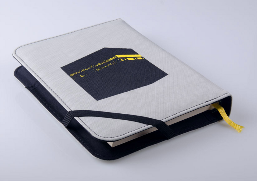 Quran cover, Pop Art - Grey, Medium - BabMakkah Stores