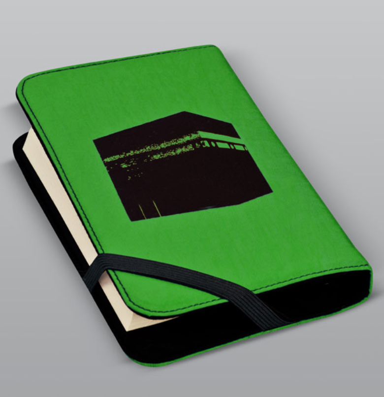 Quran cover, Pop Art - Green, Medium - BabMakkah Stores