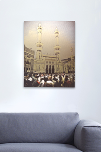 Grand Mosque Wall Art - Metallic - BabMakkah Stores