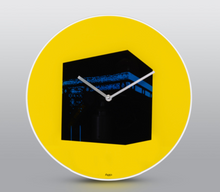 Load image into Gallery viewer, Wall Clock Pop Art - Yellow - BabMakkah Stores