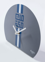 Load image into Gallery viewer, Table Clock, Lines minMakkah - Grey - BabMakkah Stores