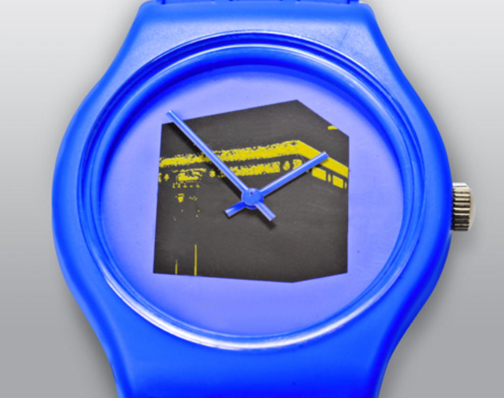 Pop Art wristwatch - Blue - BabMakkah Stores