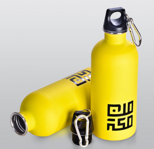 MinMakkah Water Bottle - Yellow - BabMakkah Stores