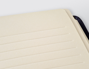 Kaabah Notebook - White Ripple - BabMakkah Stores