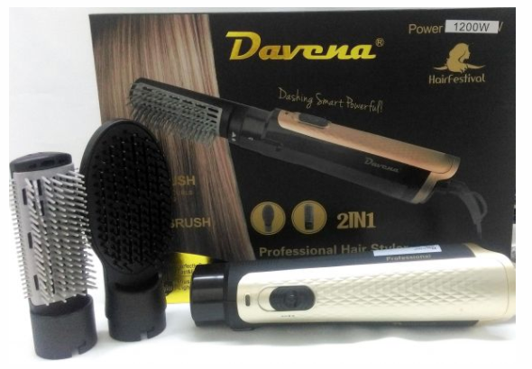 DAVENA- HAIR STYLER 2IN1 MODEL D-502 - BabMakkah Stores