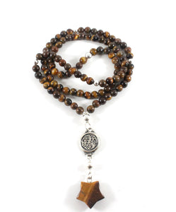 Tiger's Eye Necklace - North Star Collection - BabMakkah Stores