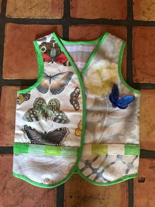 Butterflies  Vest (4 to 8 years) by Mai