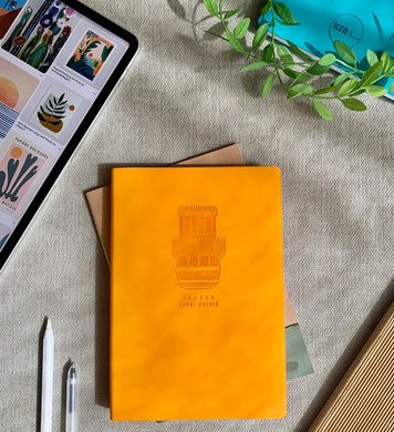 Roshan Notebook - Orange - BabMakkah Stores