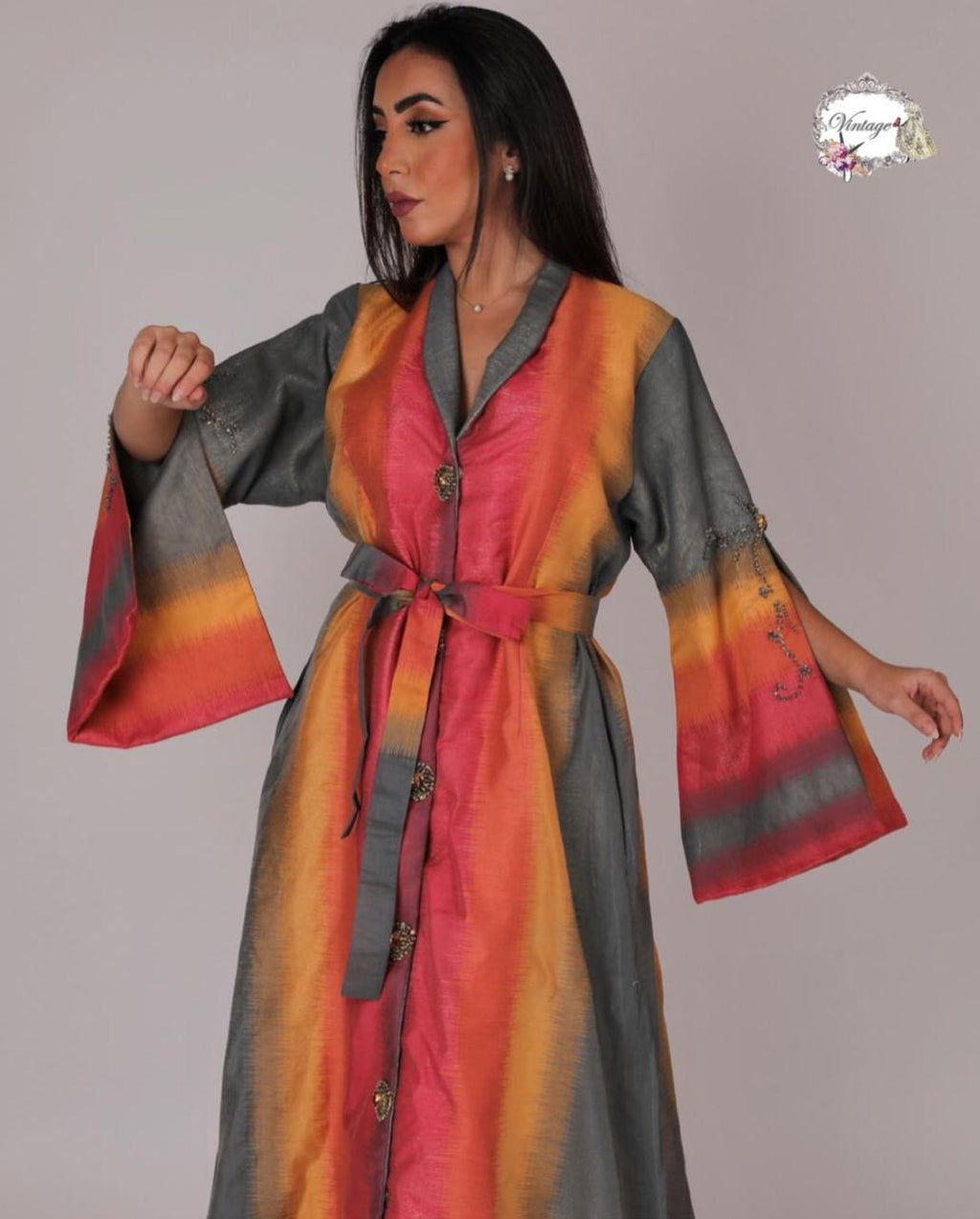 Vintage colored thobe By Vintage Fashion - BabMakkah Stores