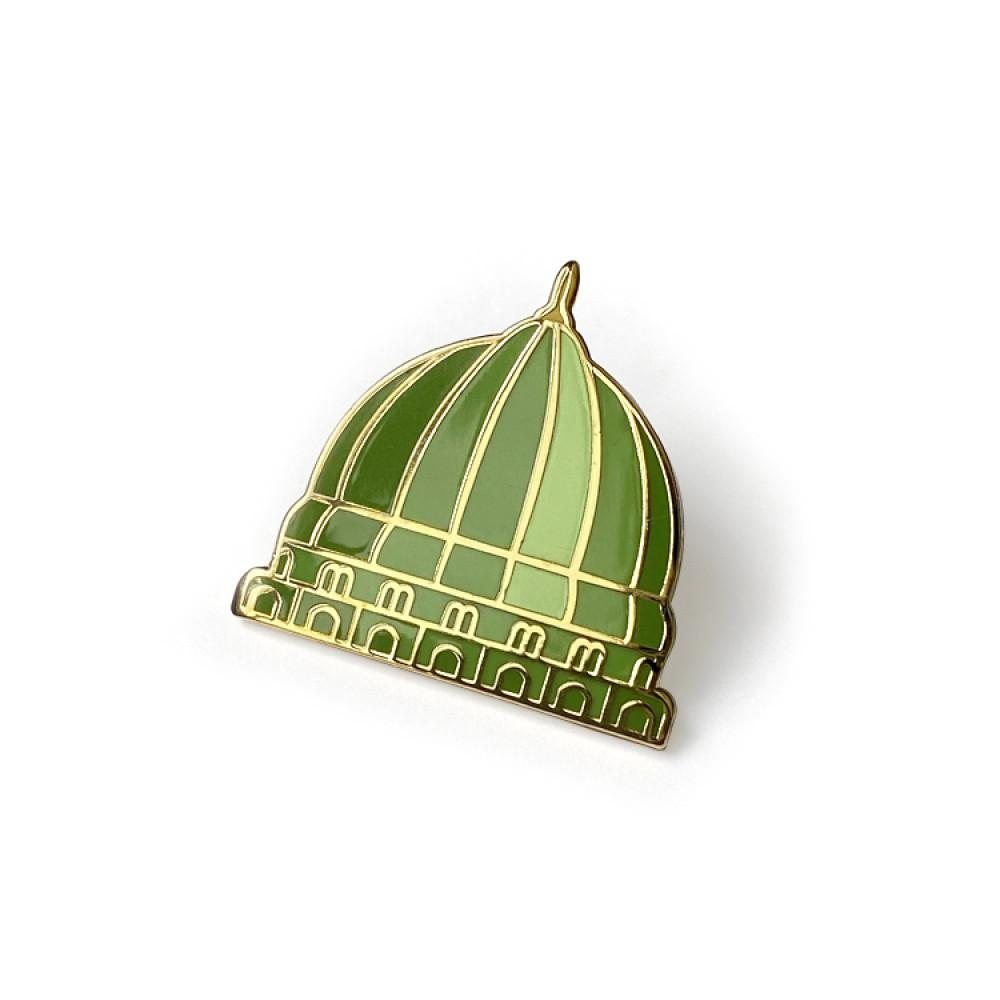 Green Dome Pin - BabMakkah Stores
