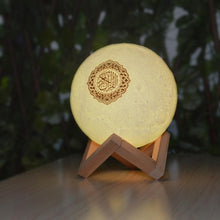 Load image into Gallery viewer, Moon Lamp Quraan Speaker - BabMakkah Stores