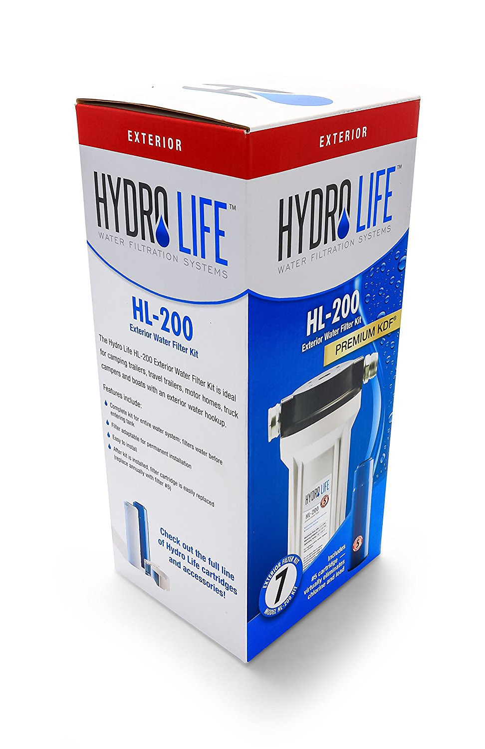 Hydro Life HL-200 Exterior Water Filter Kit 52141