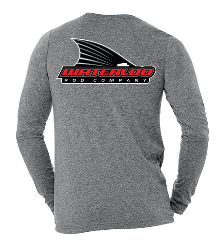Waterloo Long Sleeve Tee - Heather Grey