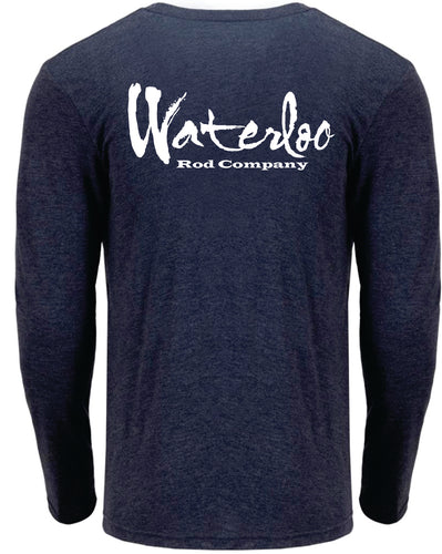 Waterloo Long Sleeve Shirt - Heather Navy