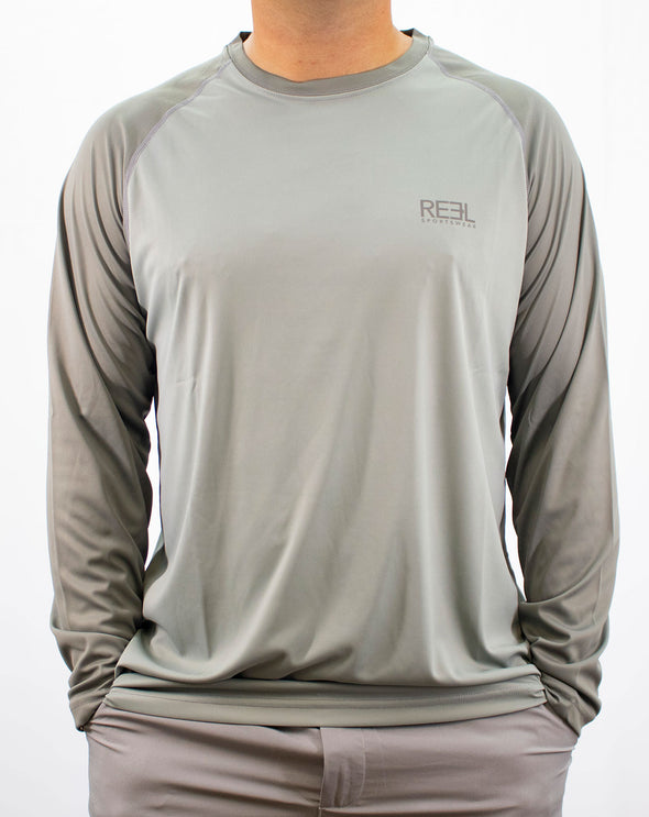 REEL Sportswear Big Hitter Long Sleeve Performance Shirt