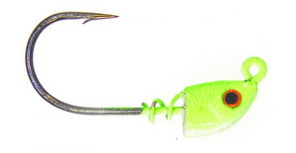 Bass Assassin Spring Lock Jigheads- 3 Count