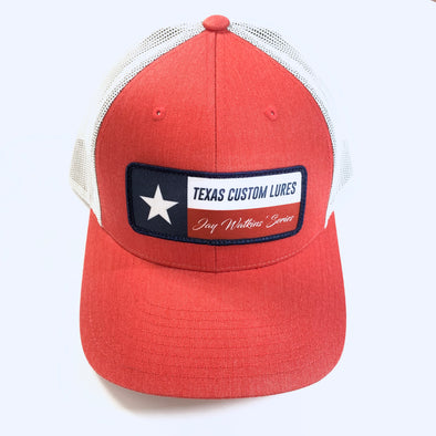 Heather Red Texas Custom Lures Cap