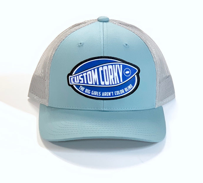 Smoke Blue Custom Corky Cap