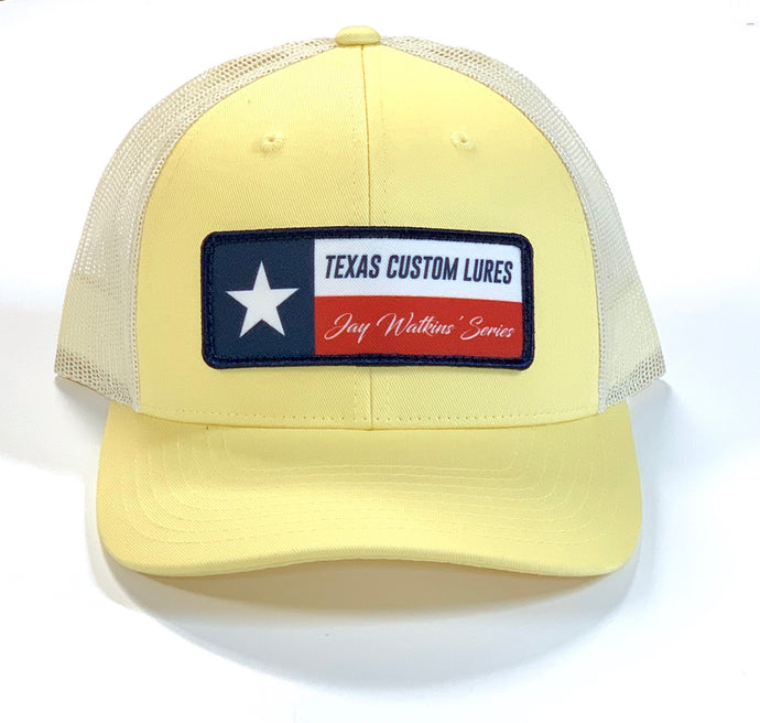 Yellow Texas Custom Lures Cap