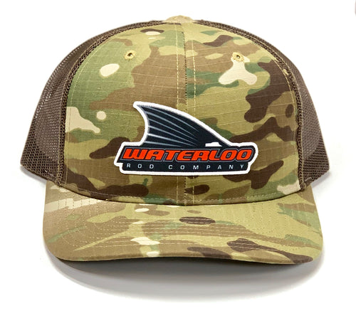 Waterloo Brown Camo Tails Up Patch Cap