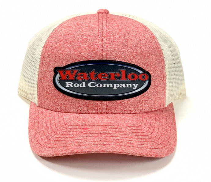 Waterloo Red Heather Patch Cap