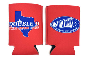 Custom Corky Koozie (Multiple Colors)
