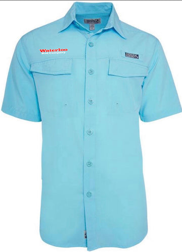 Hook & Tackle Short Sleeve UV VentedFishing Shirt
