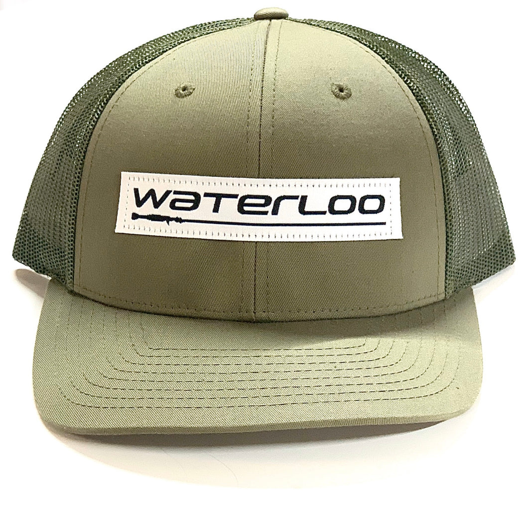 Waterloo Patch Cap Army Green
